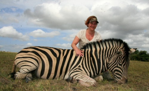 "For Wendy it was the manner whereby Greg delt with her emotions of her first hunting experience. For somebody who started out fairly ""new"" to hunting at the start of the trip, left Africa feeling a sense of camaraderie - she had joined our family of hunters."