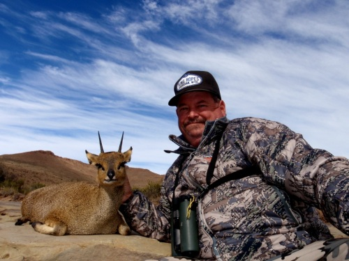 The rest as they say is history! Of course Lee got his Klipspringer - with one shot the ram didn't even know we were in the same county, let alone state or country. A great ram to say the least!