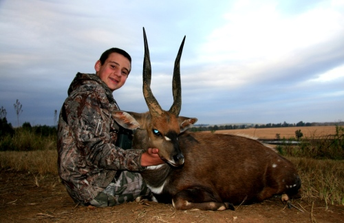 Hunter Robinson's Cape Bushbuck, hunted in South Africa remains one of my all time favorites.