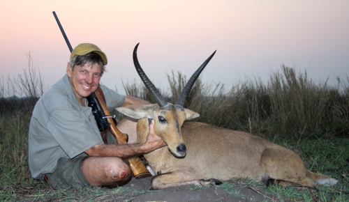 A monstrous Common Reedbuck stepped out and turned a frustrating day into one memorable one.