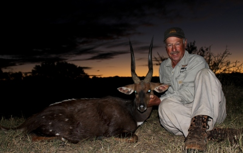 However his Cape Bushbuck turned out to be one of our favourites - a beauty to say the least!