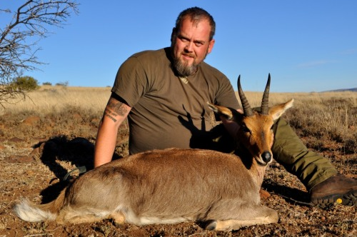 A 7 4/8'' Mountain Reedbuck...