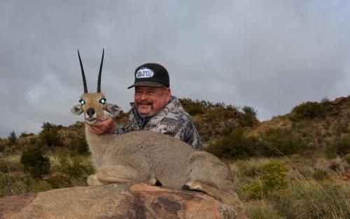 Lee Friend with a superb Vaal Rhebuck taken at 400 yards with his Gunwerks 6.5×284.