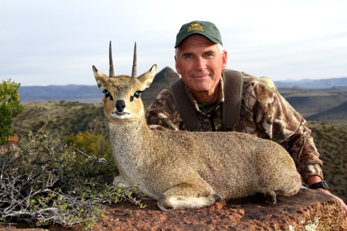 This time Larry made sure of his shot earning his dream Klipspringer.