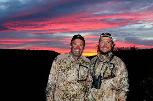It led me onto the extraordinary father/son duo of Joe and Grant Kapaun who joined us on safari during June.